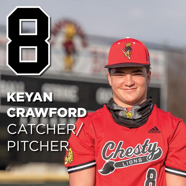 #8 Keyan Crawford