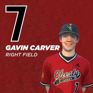 #7 Gavin Carver