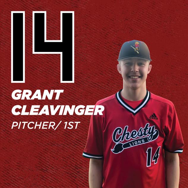 #14 Grant Cleavinger