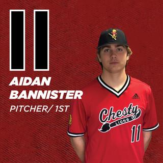 #11 Aidan Bannister