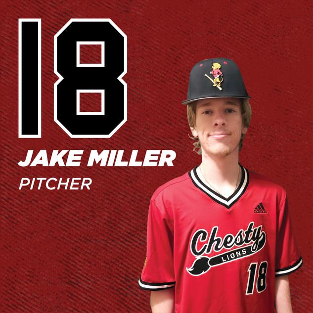 #18 Jake Miller