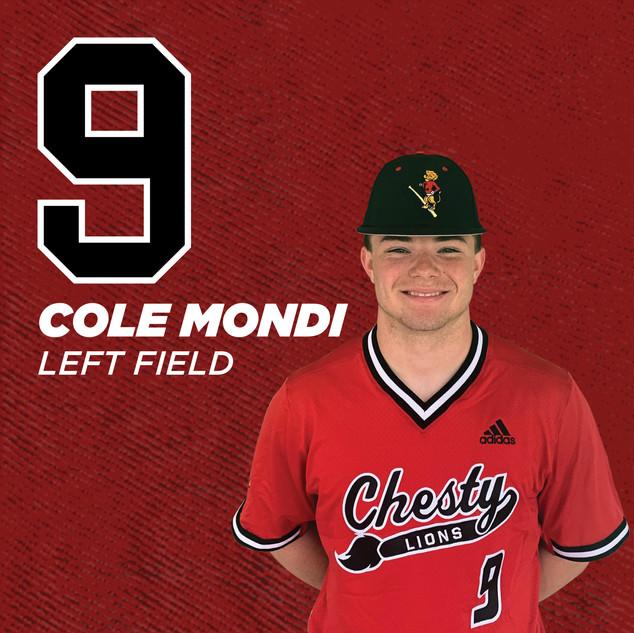 #9 Cole Mondi
