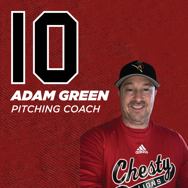 Coach Adam Green