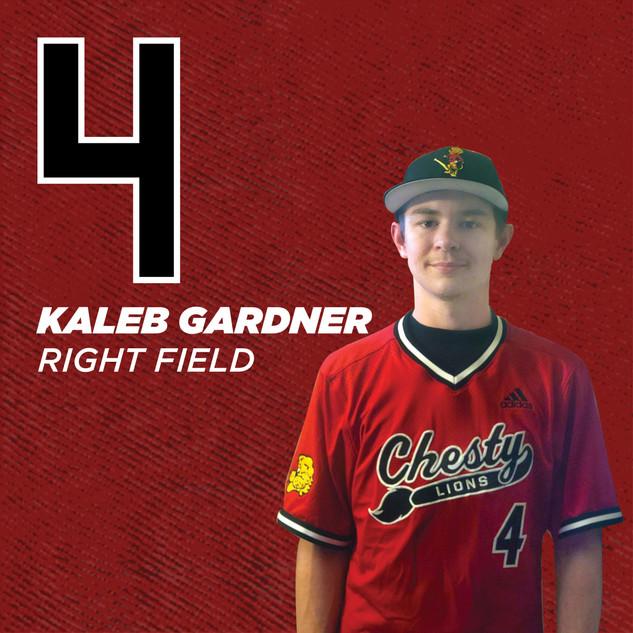 #4 Kaleb Gardner