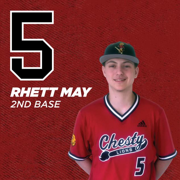#5 Rhett May