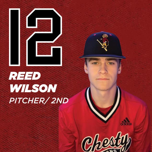 #12 Reed Wilson
