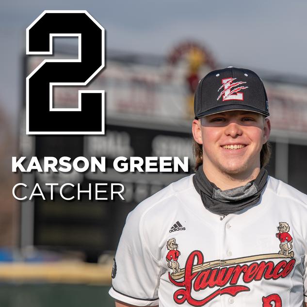 #2 Karson Green