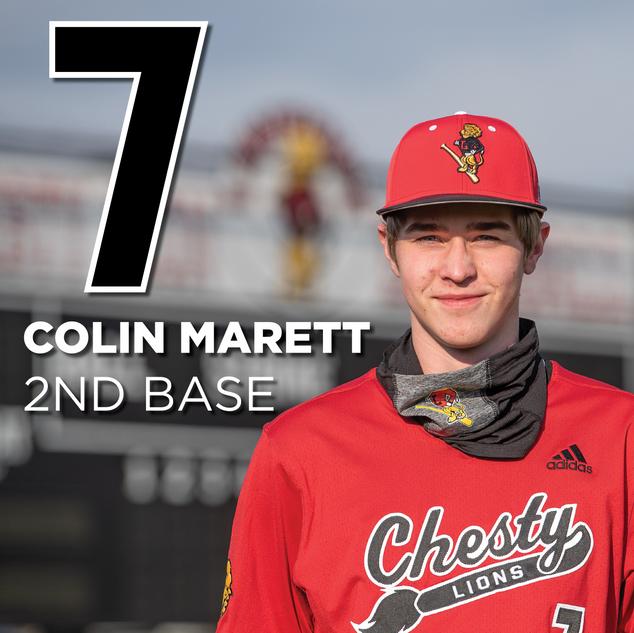 #7 Colin Marrett