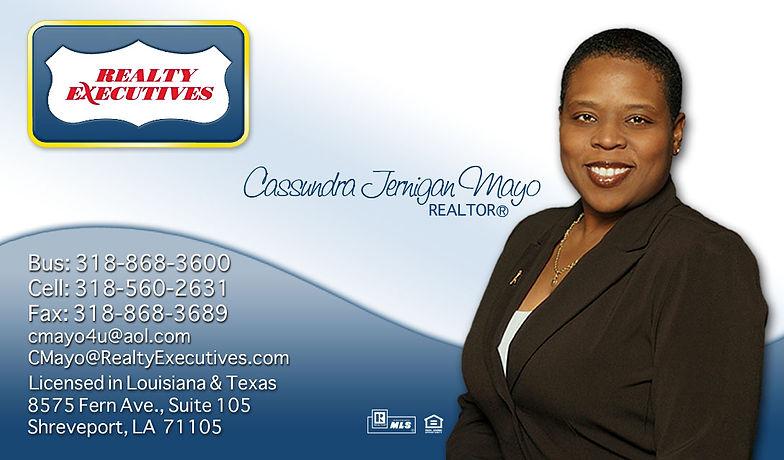 Aesthetic innovations creative design firm shreveport la real estate business card design reheart Images