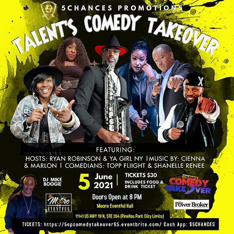 Instagram June 5th Talents Comedy Takeov