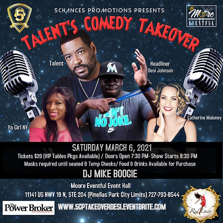 IG 5CP Talents Comedy Takeover 3-6-2021