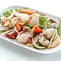 8В Умеренно острый салат из кальмара