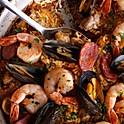 (17А) морепродукты на доске