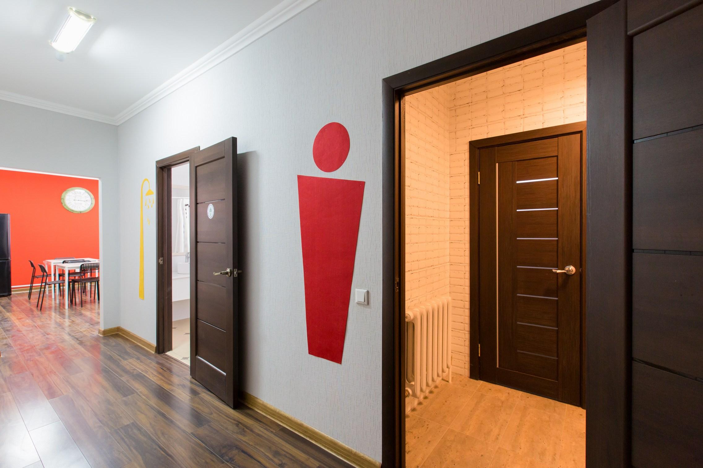 Холл 1 этажа Hostelland Astana