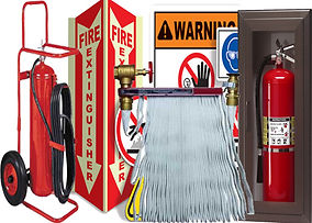 Trinity Fire Carries Safety Products in Mcallen, Tx. Wheel Fire Extinguishers, Fire Hoses, Extinguisher Cabinets, Cages for High Pressure Tanks, Fire Retardant