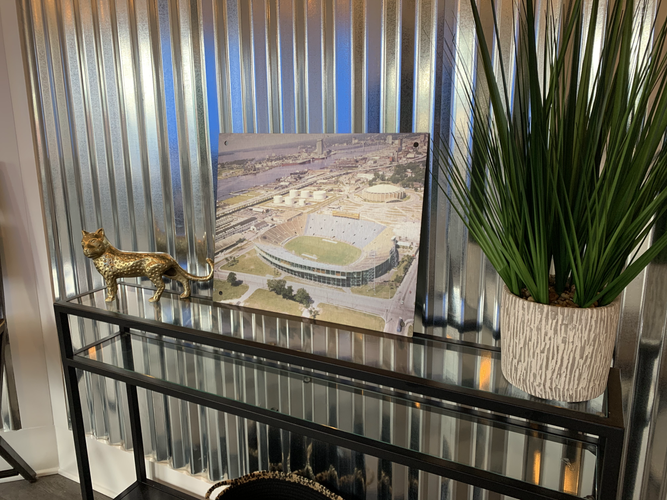 Gator Bowl decor