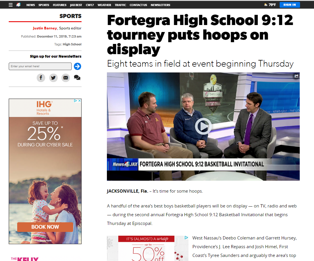 Fortegra High School 9:12 tourney puts hoops on display
