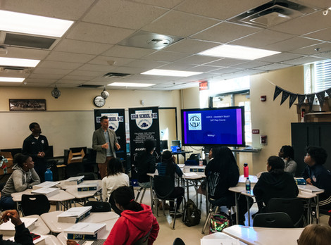 Academic Boot Camp Launch at Lee High School
