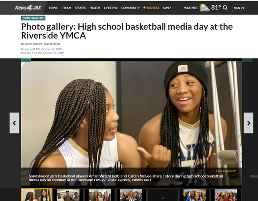 Photo gallery: High school basketball media day at the Riverside YMCA