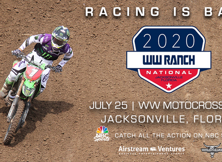 WW Ranch National back on schedule for July 25 at WW Motocross Park