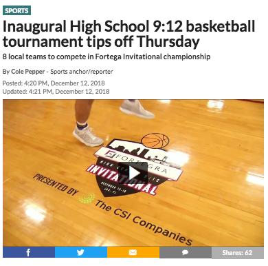 Inaugural High School 9:12 basketball tournament tips off Thursday