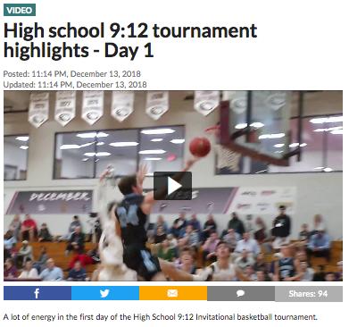High school 9:12 tournament highlights - Day 1
