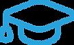 Grad Cap Light Blue Icon.png