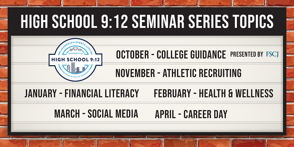 Life Skills Seminar Series