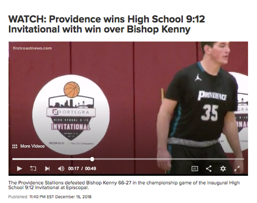 WATCH: Providence wins High School 9:12 Invitational with win over Bishop Kenny