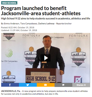 Program launched to benefit Jacksonville-area student-athletes