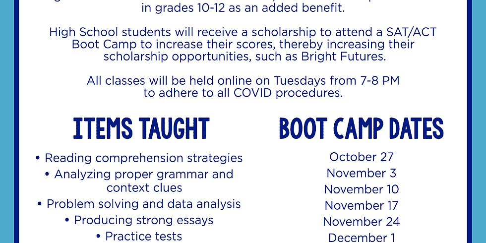 DCPS SAT/ACT Bootcamp