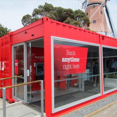 Banco em Container