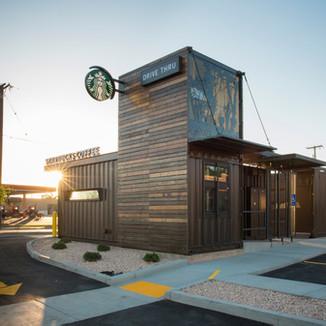 Loja Drive-Thru Starbucks