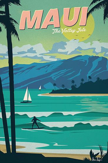Asfour Maui Postcard