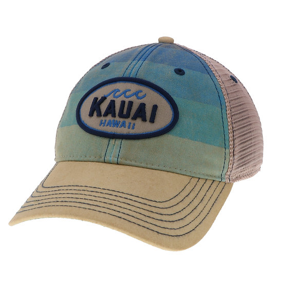 Whirled Planet Kauai Striped Wave Hat