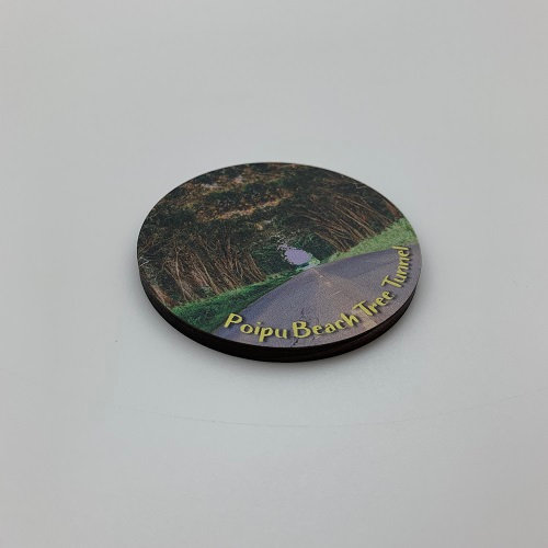Tunnel of Trees Circle Magnet