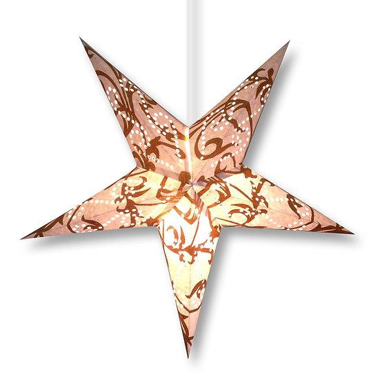 Gold Galaxy Star Lamp