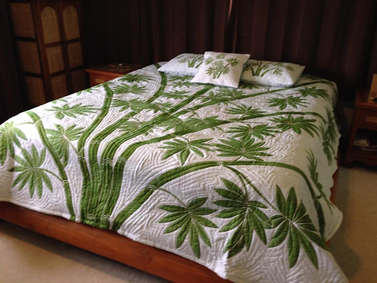 Bamboo Queen Size Quilt Set