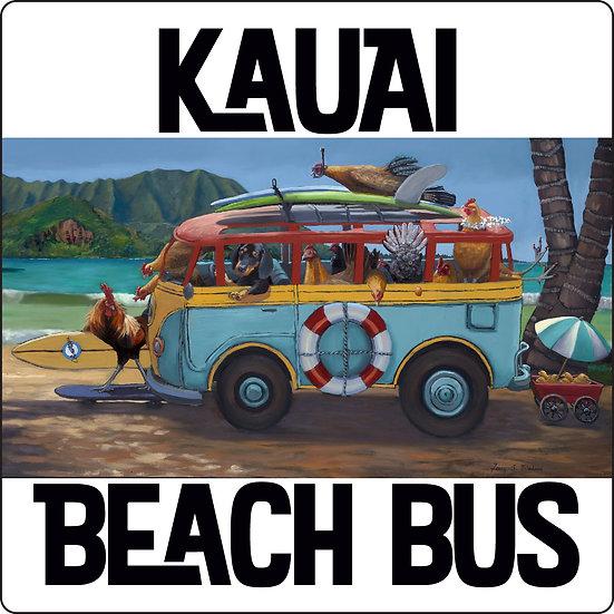 Bilodeau Beach Bus Coaster