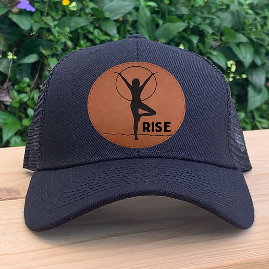 Rise Yoga Patch Trucker Hat