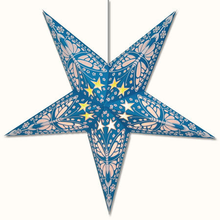 Papillon Star Lamp Blue