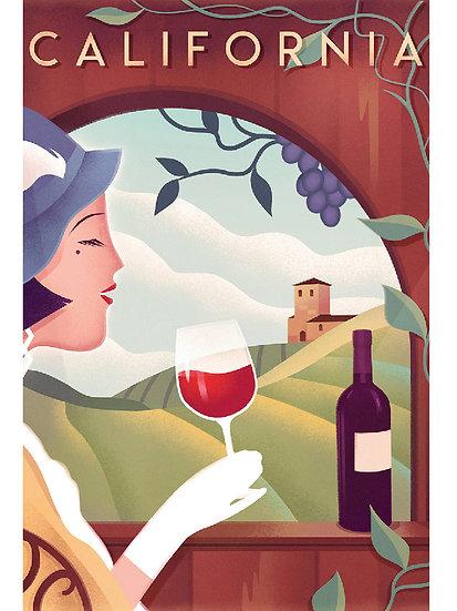 Wickstrom Winery Postcard