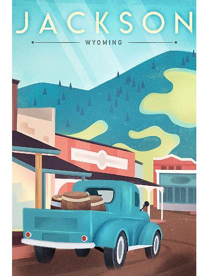 Wickstrom Jackson Postcard