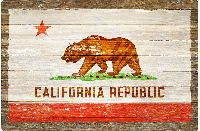 Bear Flag Postcard