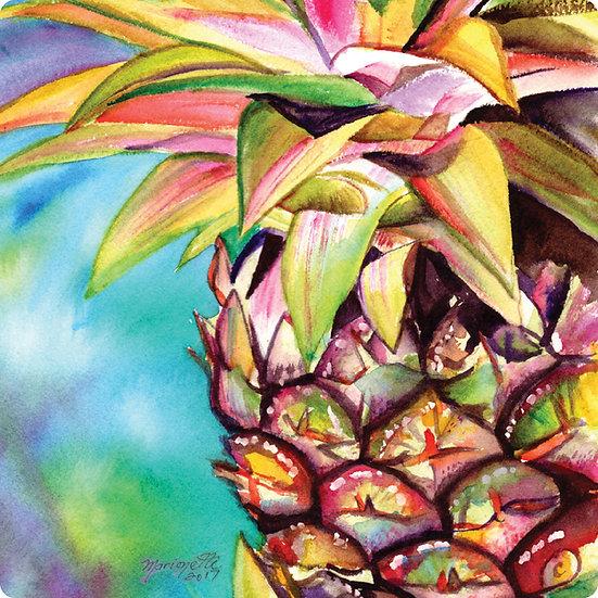 Tropical Flowers Coaster Set