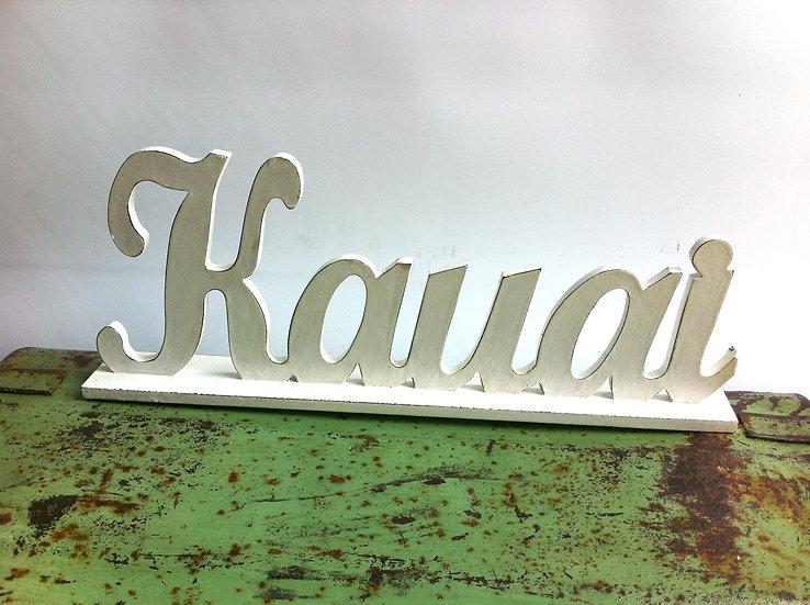 Kauai Stand White