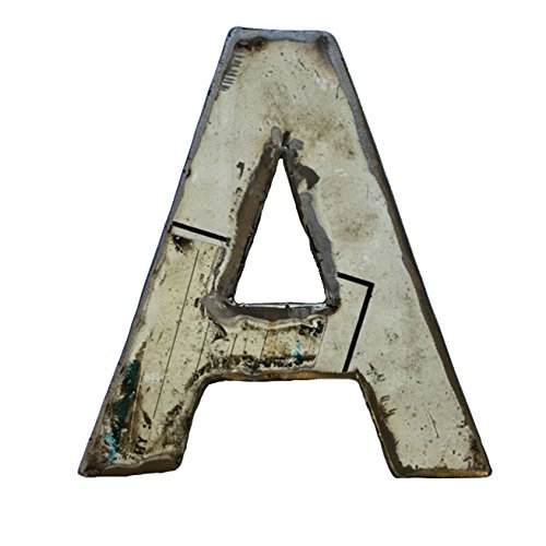 "Recycled Metal Letter ""A"""