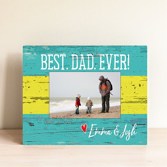 Best Dad Ever Father's Day Photo Frame