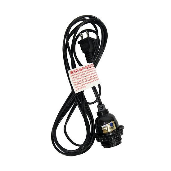 11' Black Hanging Lantern Cord