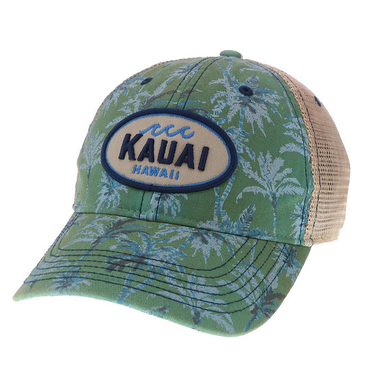 Whirled Planet Kauai Palms Print Wave Hat